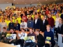 """IT komandos """"DreamBusters"""" išvyka į tarptautinį konkursą Ventspilyje"""