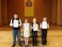 """Pradinių klasių mokinių meninio skaitymo konkursas """"Pavasario linksmybės"""""""