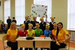 """Progimnazijos komanda konkurso """"Sveikuolių sveikuoliai"""" I vietos laimėtojai!"""