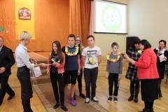 """Progimnazijos komanda konkurso """"SVEIKUOLIŲ SVEIKUOLIAI"""" I vietos nugalėtojai!"""