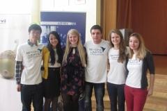 """Tarptautinio edukacinio AIESEC projekto """"Beyond Limits"""" pabaiga"""