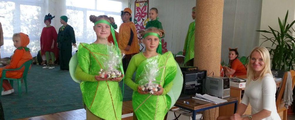 4c klasės mokiniai koncertavo Punsko Dariaus ir Girėno pagrindinėje mokykloje