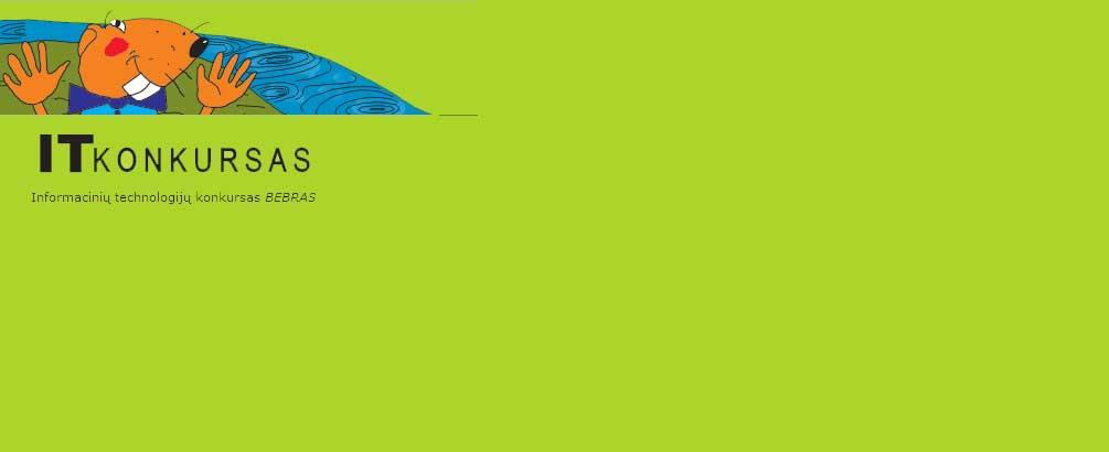 Informacinių technologijų konkursas Bebras 2014