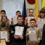Sveikiname mokyklos etapo geografijos olimpiados nugalėtojus!