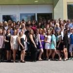 8 klasių mokinių atsisveikinimo su progimnazija šventė