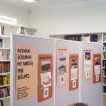 Mokinių darbų paroda bibliotekoje