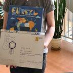 Sveikiname Europos egzamino finalistą